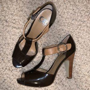Brown & Tan Heels 7.5 Gianni Bini